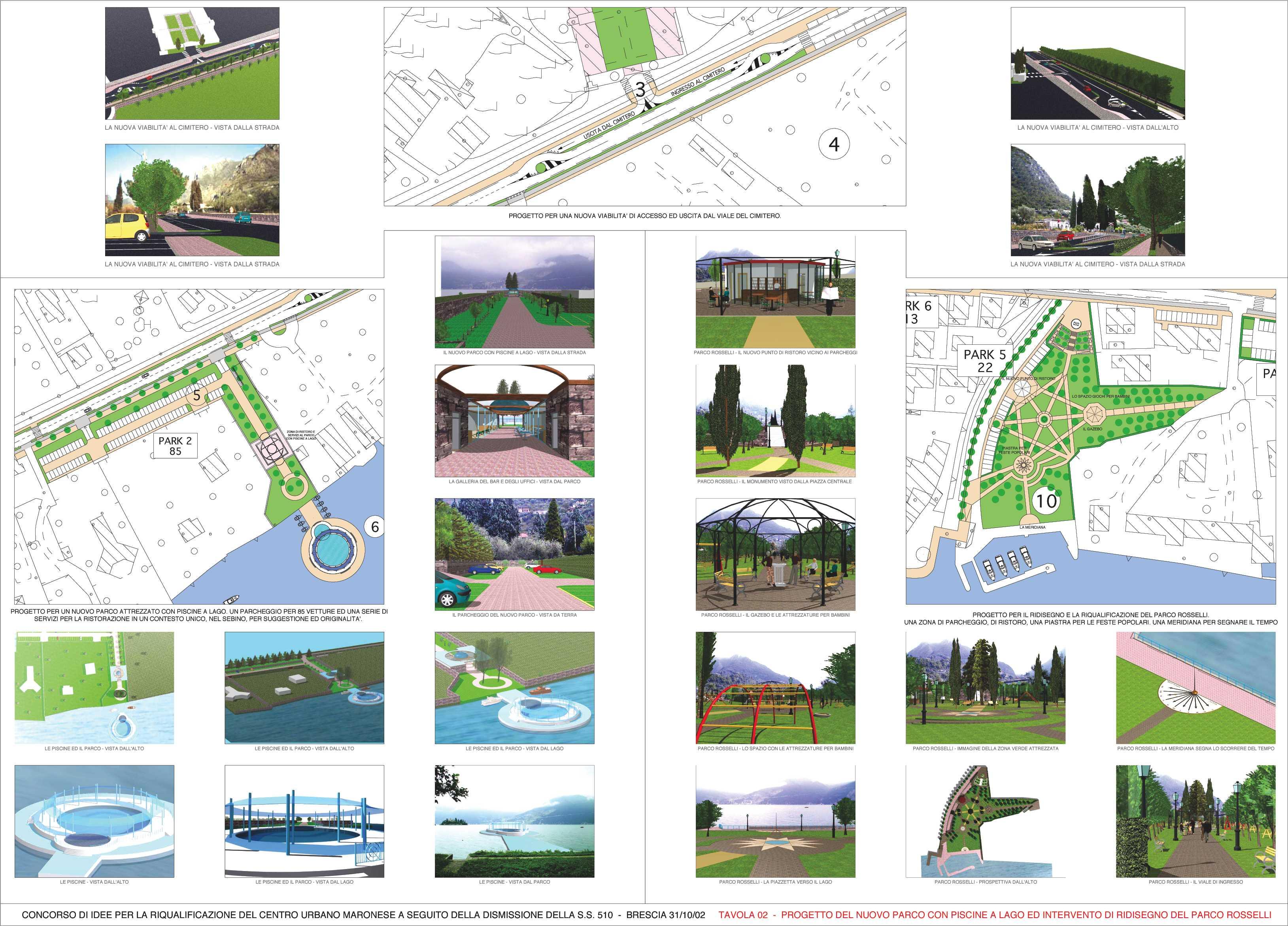 Le tre tavole - Tavole di concorso architettura ...